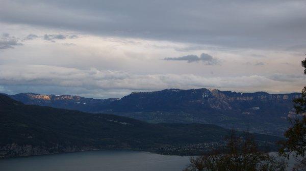 Balade Aix les Bains 01/11/12