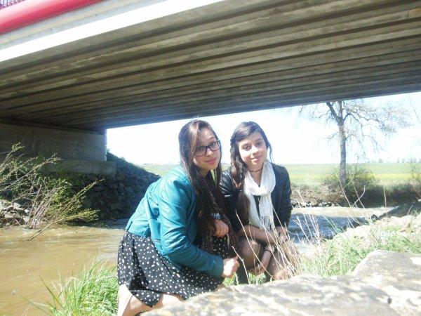 Avec la soeur ! <3
