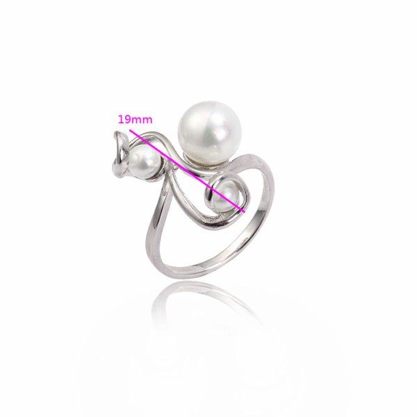 bague : l'élue de la semaine, bague 3 perles : 14,90 e; frais de port offerts