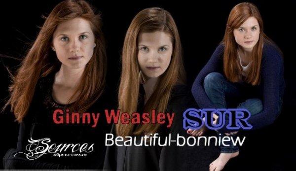 Le personnage de notre belle Bonnie, Ginny Weasley ♥