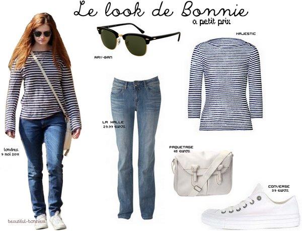 > Bonnie's clothes