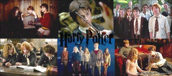 Les films & livres d'Harry Potter