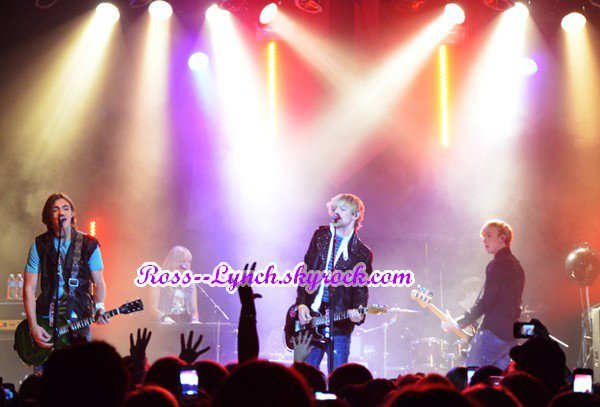 Photos de concert / Photos on tour