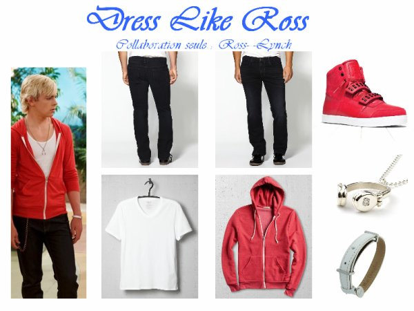 Dress Like Ross (inspiré par ThorneBella) / Dress Like Ross (inspired by ThorneBella)