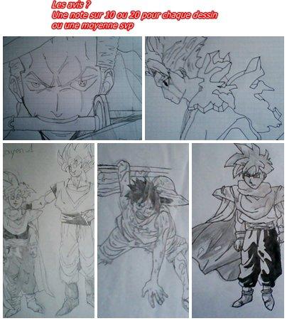 anciens dessins
