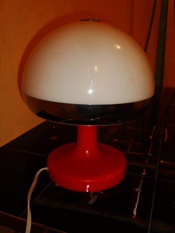 Lampe de bureau table vintage 39 60 colani eames panton for Eames lampe