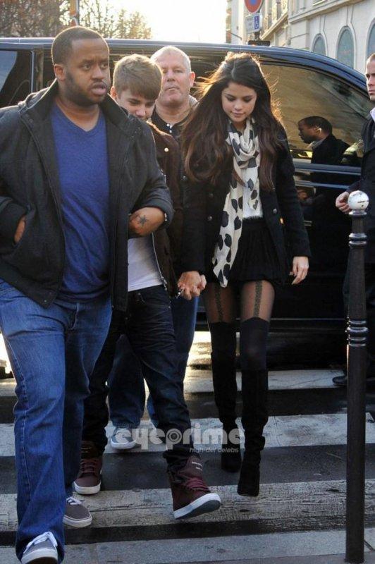 Justin à Paris, hier !