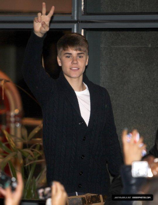 Le premier Gros Scandale de Justin !