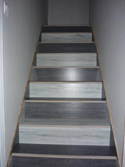 renovation d escalier en bois photos de conception de maison. Black Bedroom Furniture Sets. Home Design Ideas