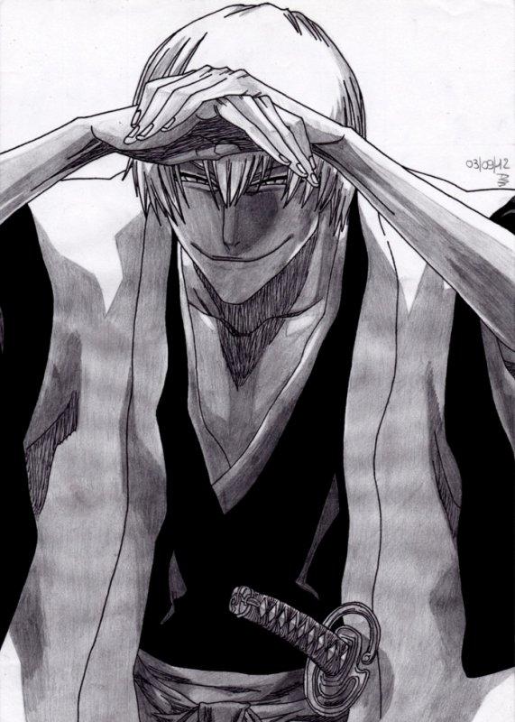 2ème Dessin : Gin Ichimaru !