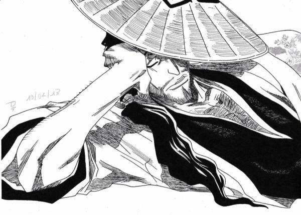 4ème Dessin : Shunsui Kyoraku !