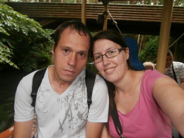 moi et ma chérie ! a belleward parc<3 en mode amoureux