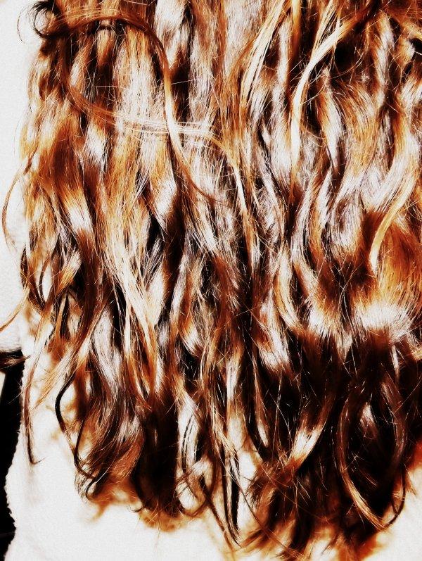 #Curly#hair♥