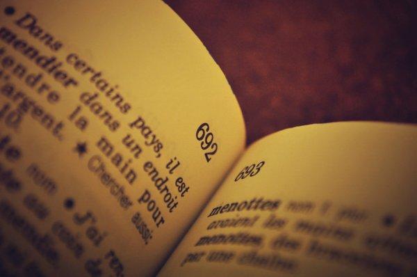 petite second dictionnaire.
