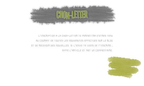 Chon-Letter