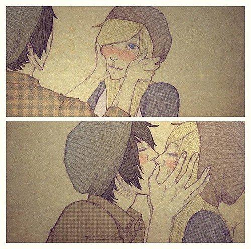 Oui, je crois bien que je suis amoureuse de toi..! ♥