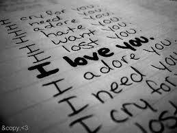 Tu me fais pleurer mais je t'aime toujours...♥