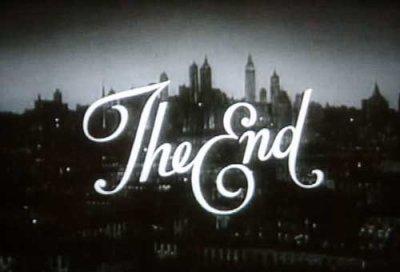 C'est la fini...