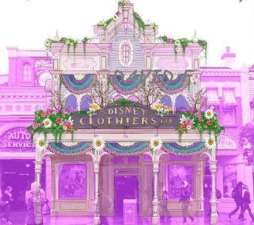 Festival du printemps: concept de Disney Clothiers