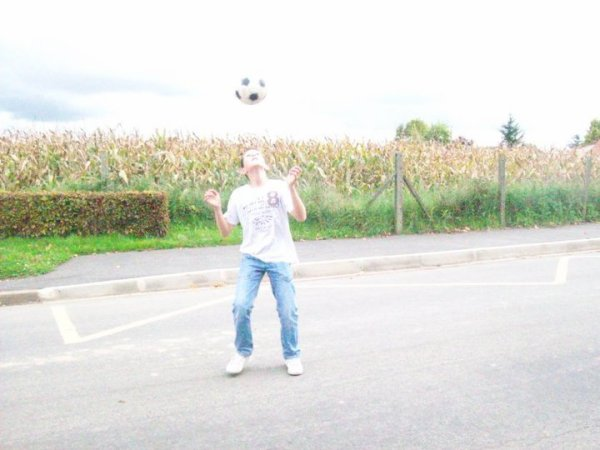 Mooi en mode footballeur
