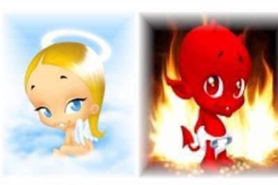 Tu est est plutot ange ou demo???
