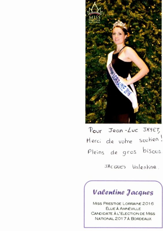 Miss Prestige lorraine 2016