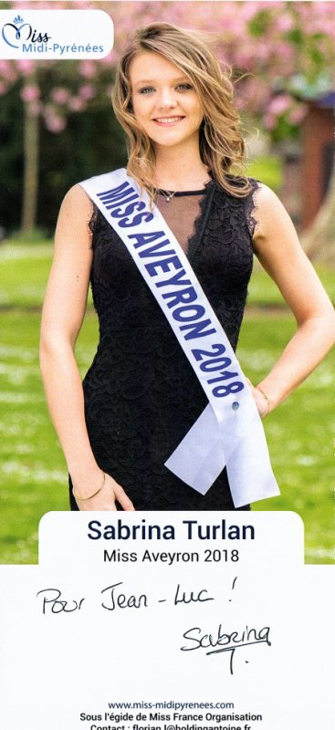 miss Aveyron 2018