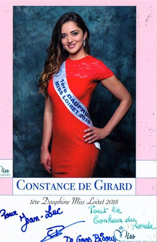 1er dauphine Miss Loiret 2018