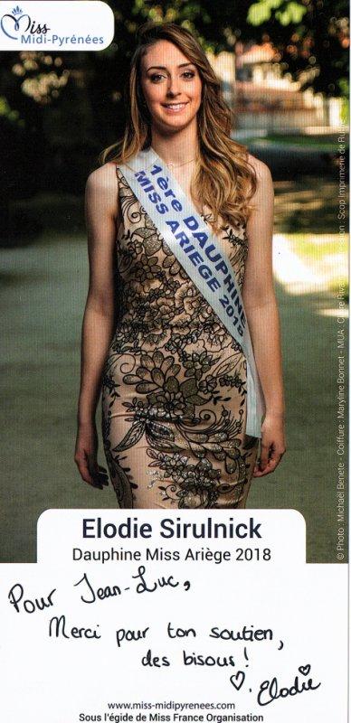 1er dauphine miss Ariège 2018