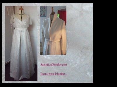 Robe de mariée ...