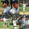 .  19 Avril: Nick se donnait à fond lors d'un match de Softball pour la Broadway Softball League..