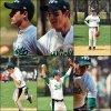 .  19 Avril: Nick se donnait à fond lors d'un match de Softball pour la Broadway Softball League..