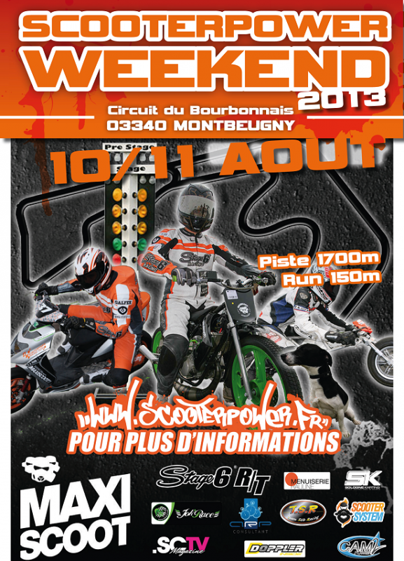 Scooter Power week end