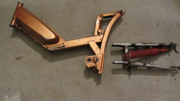 Vent cadre 103 SPX bras oscillant et amortisseur lot à 40 ¤