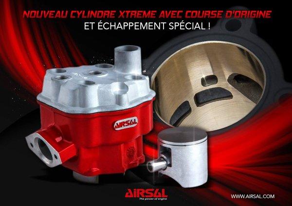 Nouveau cylindre culasse AIRSAL D.50