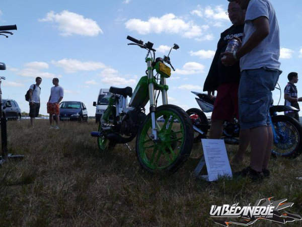Souvenir du Scooter Power 2014 à Montbeugny