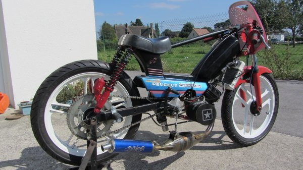 Malossi 70 cc suite et presque fin