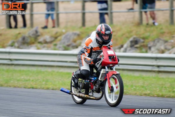 Malossi 70 cc suite en Meeting