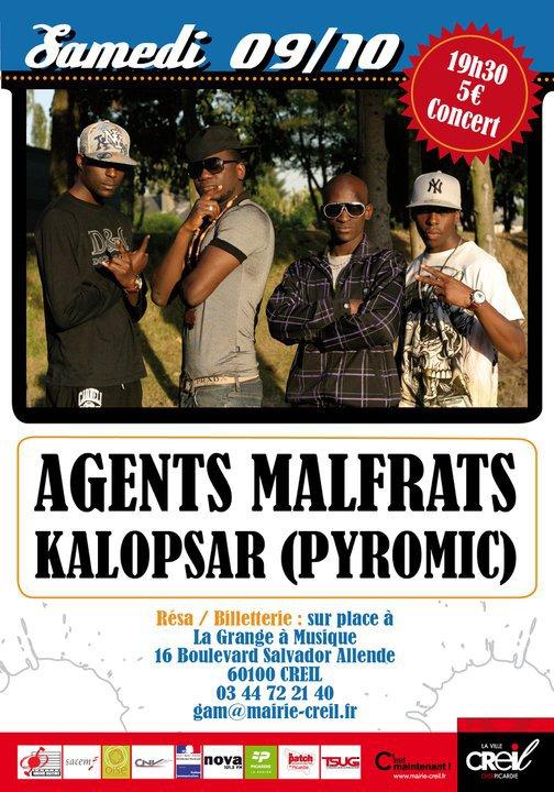 >>> AGENTS MALFRATS EN CONCERT <<<