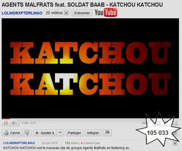 >>> + DE 100 000 VUES SUR YOUTUBE POUR LE CLIP KATCHOU KATCHOU <<< Bientôt du nouveau, Restez connectés !