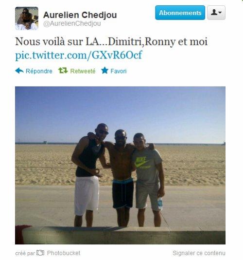 Twitter Aurélien Chedjou
