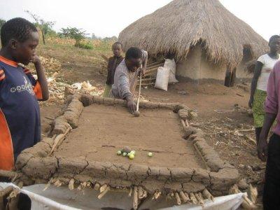 Billard à l'africaine ! source: page Senegal