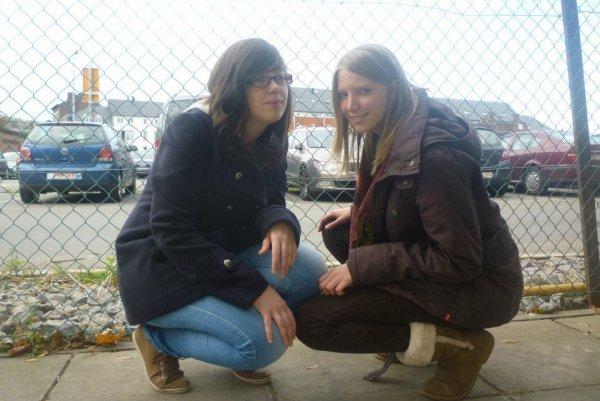 Justine et moi ♥