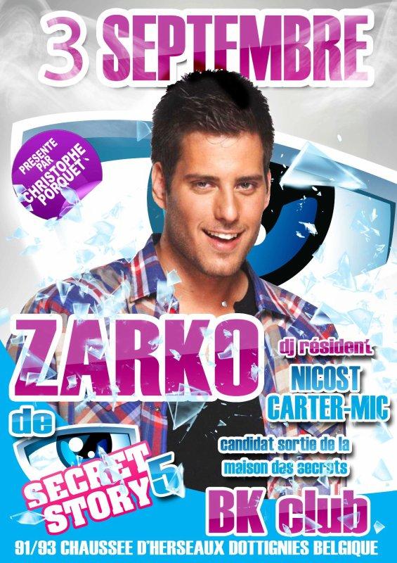 Zarko en Belgique