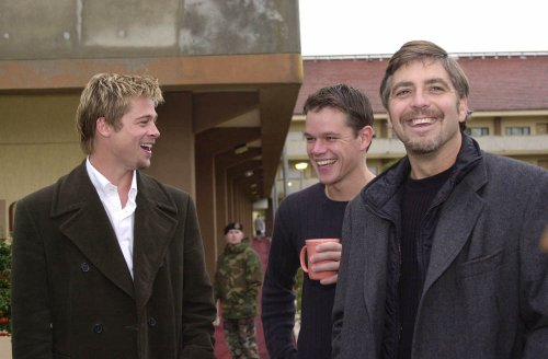 Pitt Clooney Damon