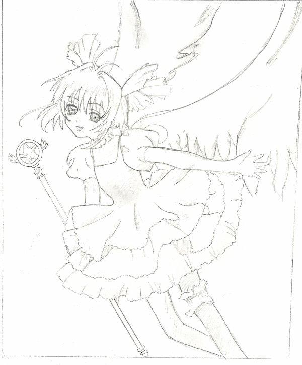 Et 1 dessin de la belle Sakura !