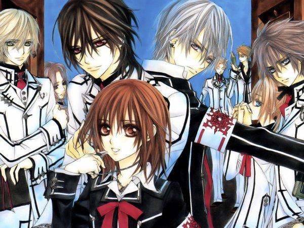 Voici tout les personnages du manga!