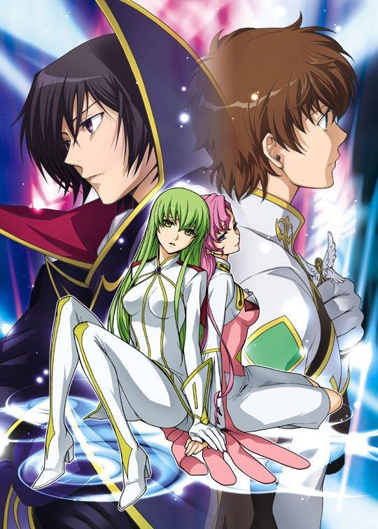 Lelouch, Suzaku, C.C et Euphemia