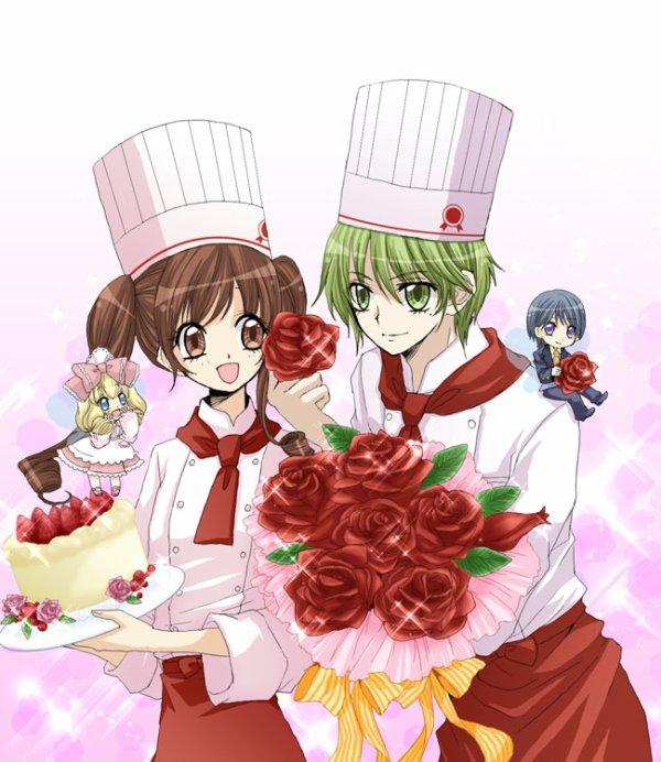 Le belle Ichigo et  son prince Satsuki