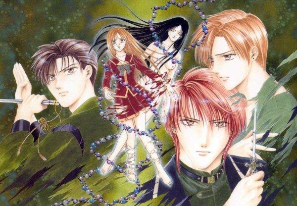 Les personnages de ce splendide manga!!!